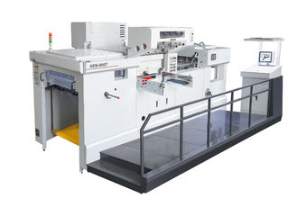 চীন Servo motor Fully automatic die cutting machine and foil stamping machine সরবরাহকারী