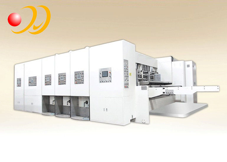 Die Cut And Creasing Corrugated Box Machine For Carton Production Line