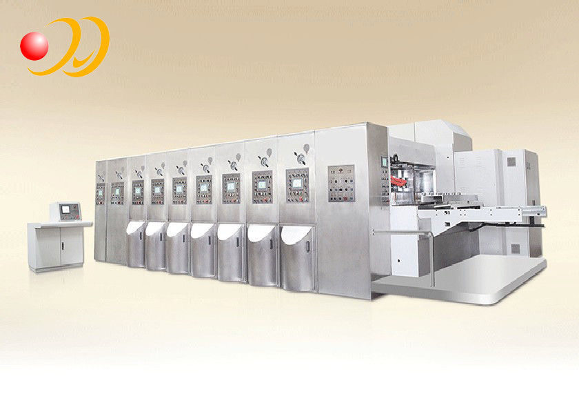 Automatic Corrugated Box Machine Flexo Printing Slotting Die cutting