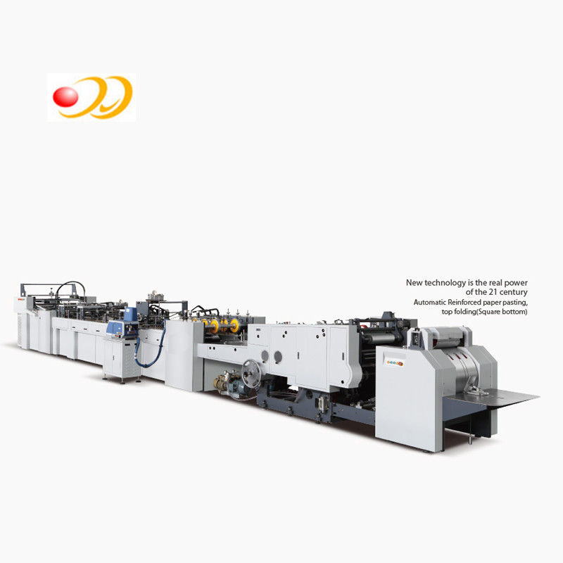 High Performence Paper Bag Making Machine With Hand Crank Creasing System