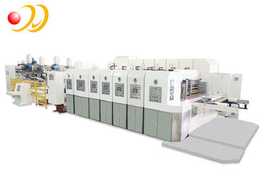 Fully Automatic Corrugated Box Machine High Speed Movable Structure
