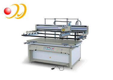 Large Flatbed Screen Printing Machines Automatic Horizontal - Lift