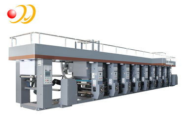 High Speed Industrial Rotogravure Printing Machine With Computer Control