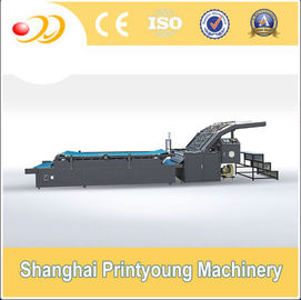 Semi Automatic Flute Laminating Machine For 350gsm Paper Cardboard Corrugated Box