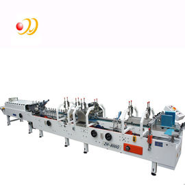 চীন Crash Lock Bottom Folder Gluer Machine With Remote Control Airplanes 0-220m / min কারখানা