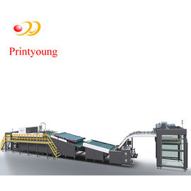 High Speed Automatic Flute Laminating Machine With Auto Rolling - Over 200 - 450gsm